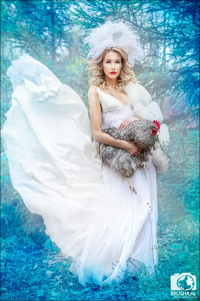 русские традиции, петух, символ года, фотографи для календарей